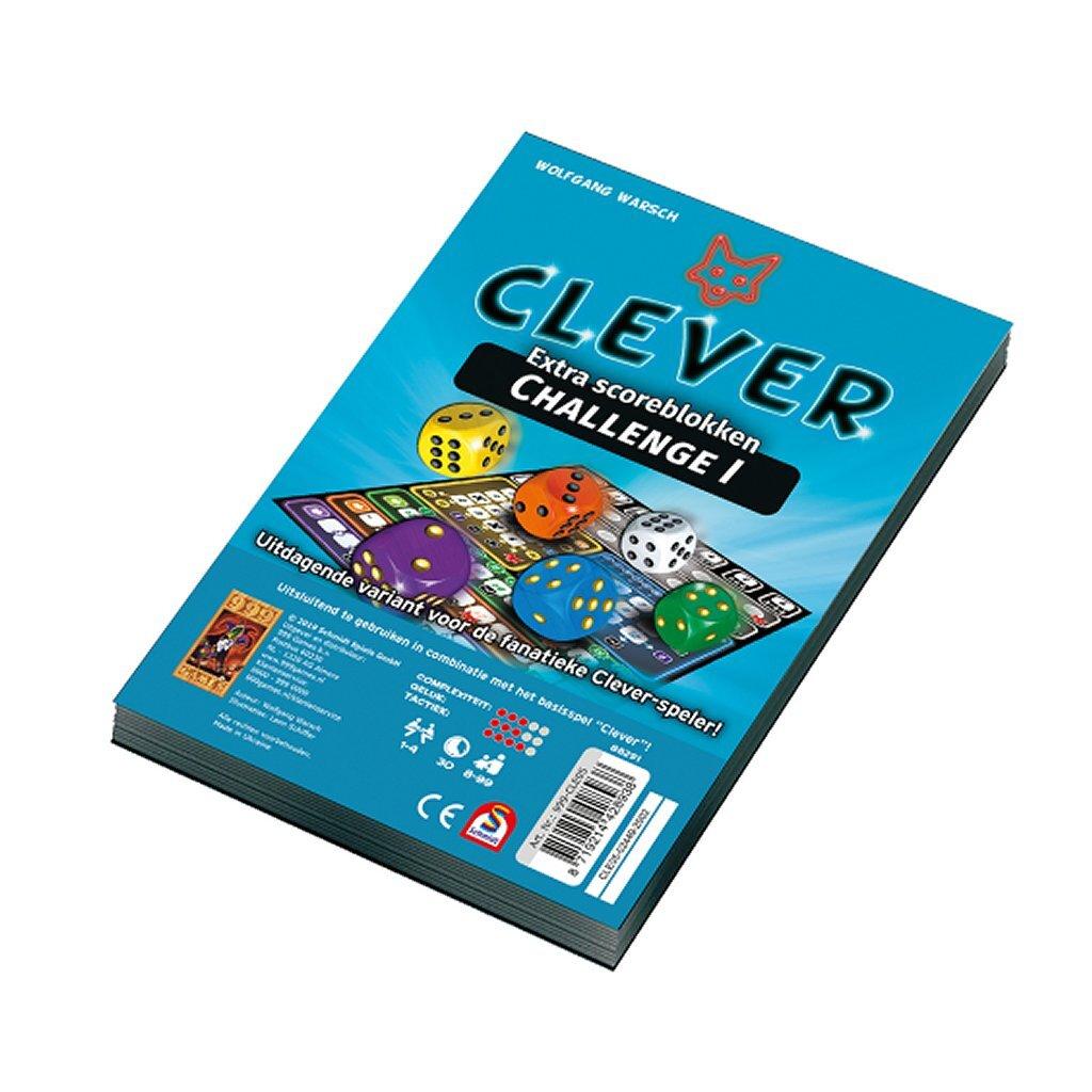 999 games clever challenge scoreblokken 2 stuks
