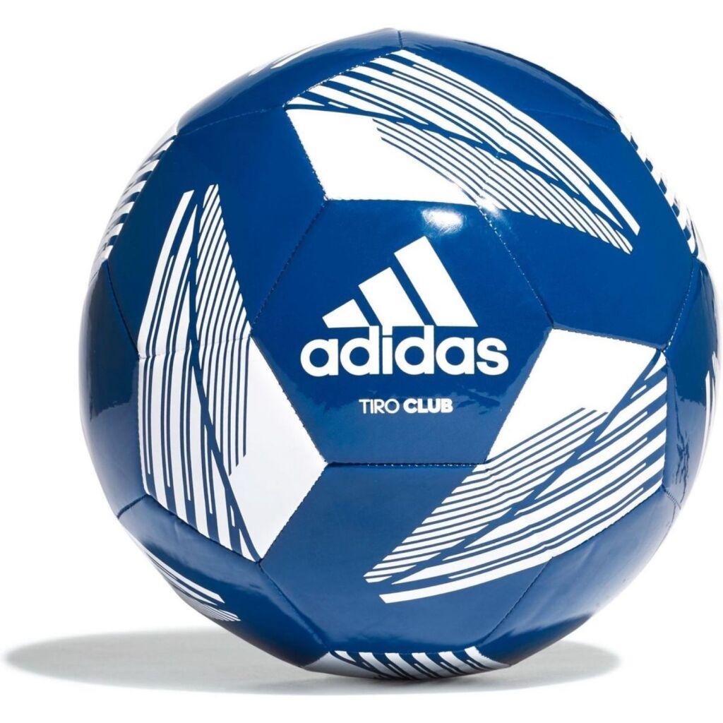 adidas voetbal blauw/wit