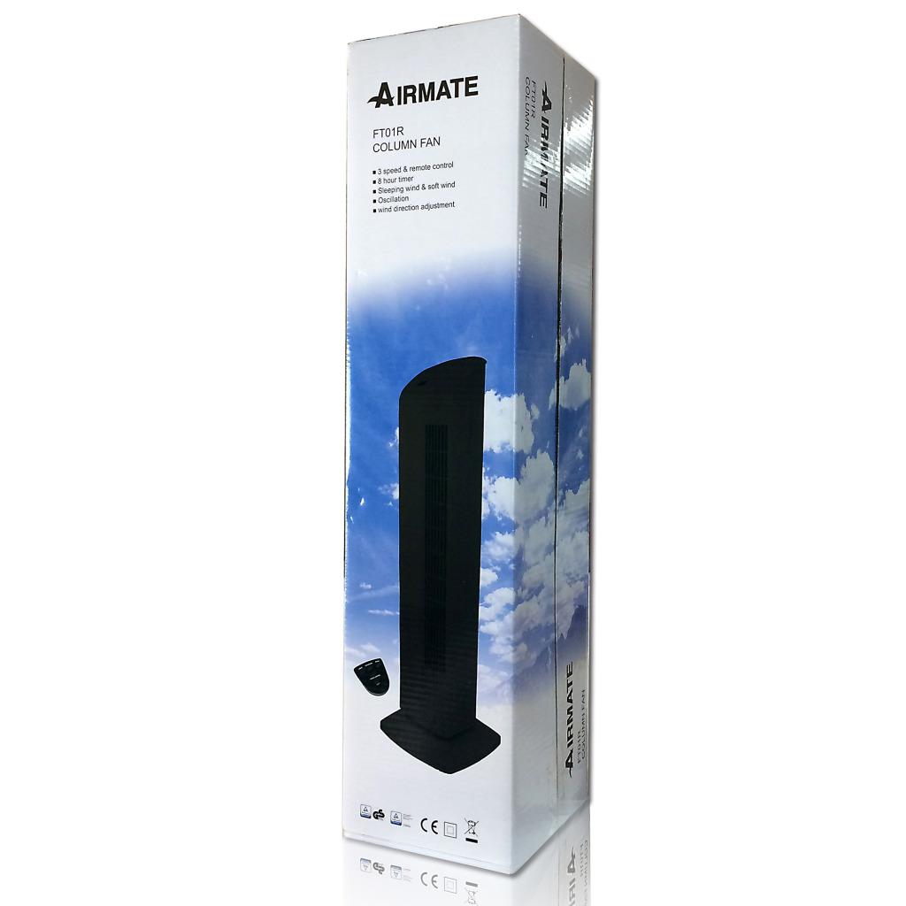 airmate kolom ventilator 85cm en afst.bed