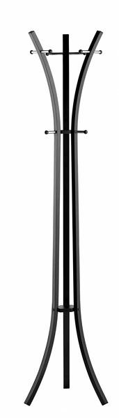 Alco AL-2873-11 Kapstok Metaal Zwart Met 9 Haken