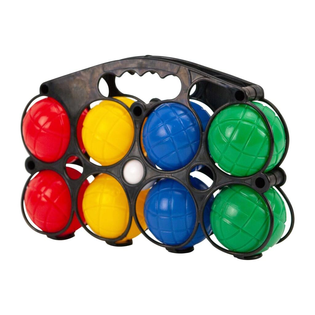 Alert Jeu De Boules Set met 8 Kunststof Ballen