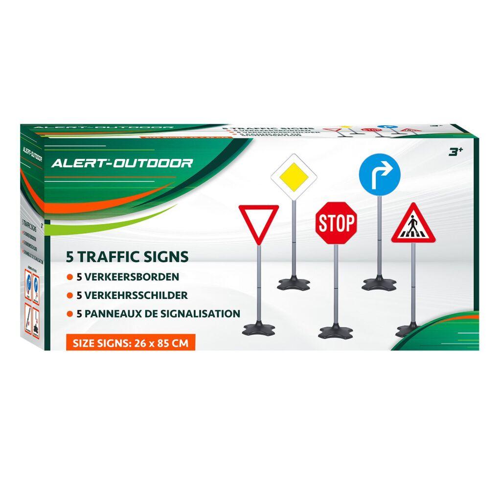 alert-outdoor verkeersbordenset 5-delig
