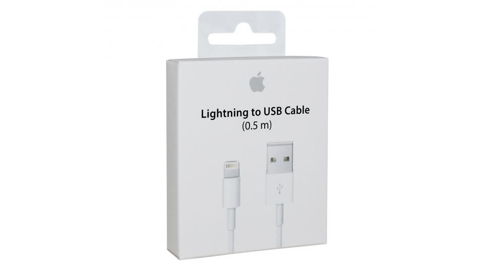 apple lightning laadkabel 0.5m