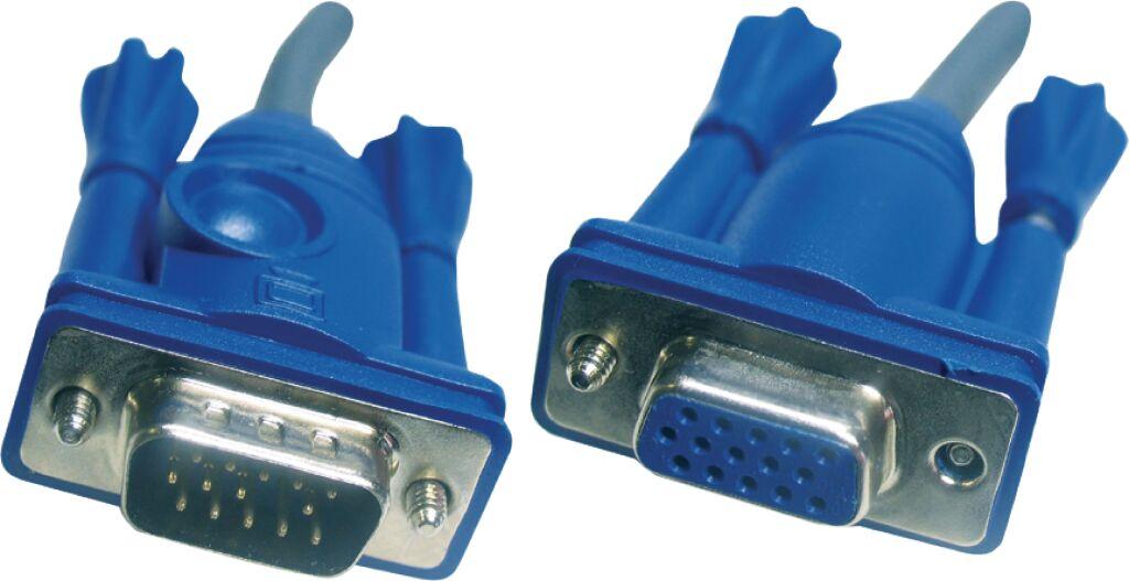 aten 2l-2403 kvm kabel vga female 15-pins - vga male 3.0 m