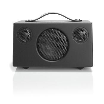 audio pro bluetooth luidspreker t3+ coal zwart