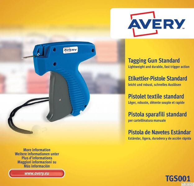 Avery AV-TGS001 Textielpistool