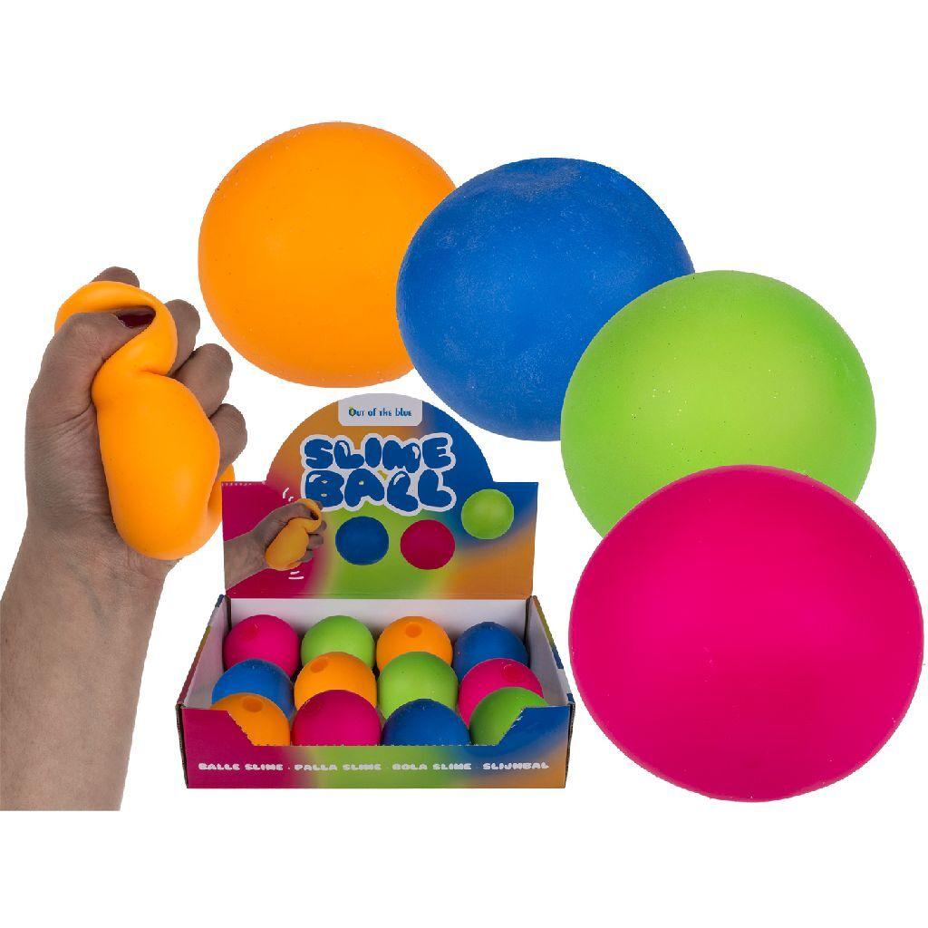 Squeeze Ball 6.5 cm Assorti Display 12 Stuks