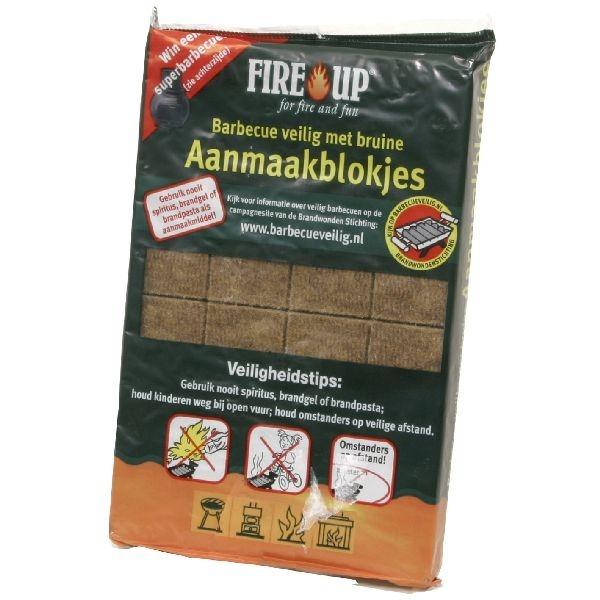 Fire up Aanmaakblokjes 24 stuks