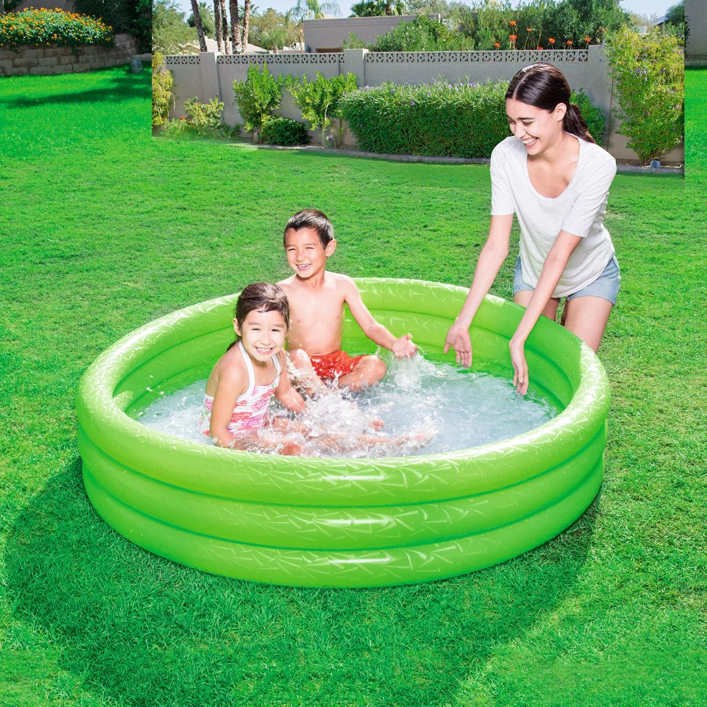 Bestway 3 Rings Opblaasbaar-Zwembad 152x30 cm Assorti