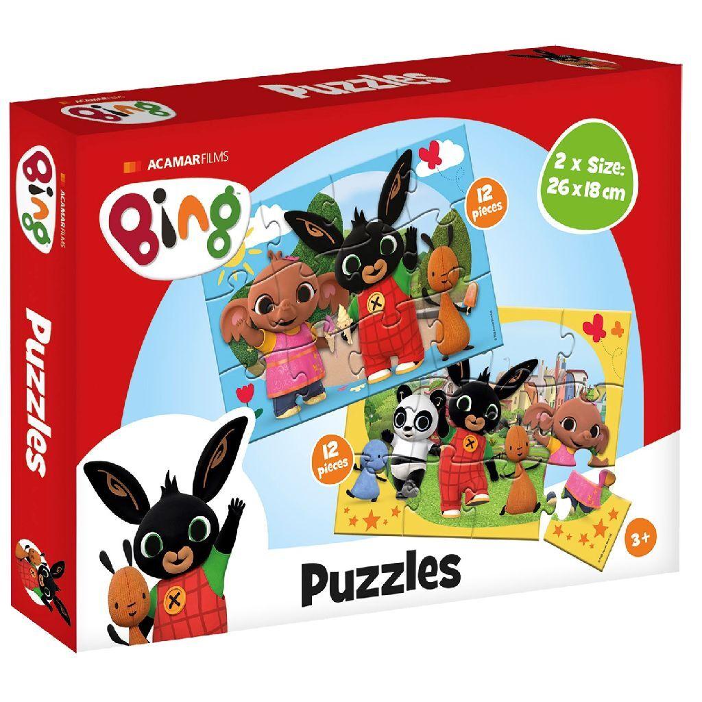 bing puzzels 2x12 stukjes
