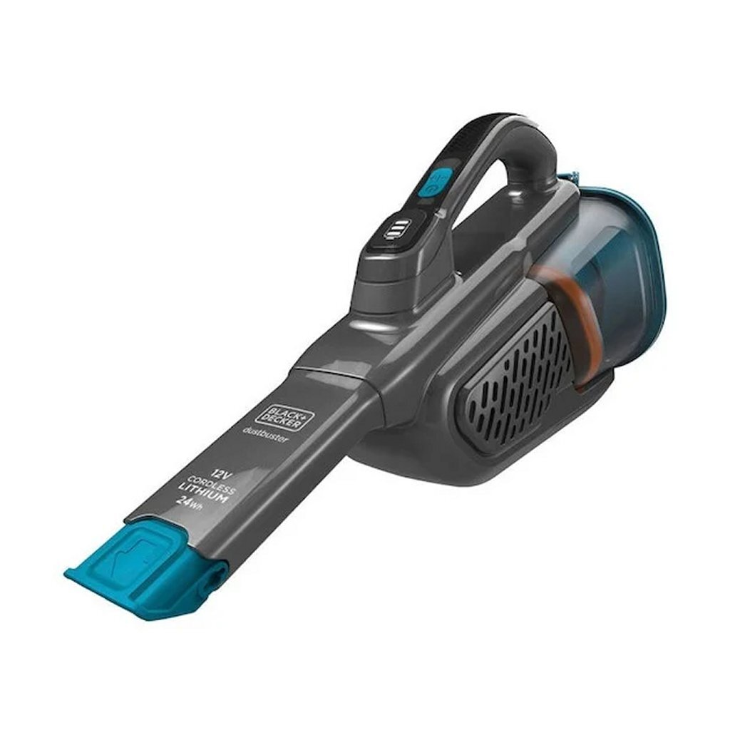 black en decker bhhv320j150-qw kruimelzuiger grijs/blauw