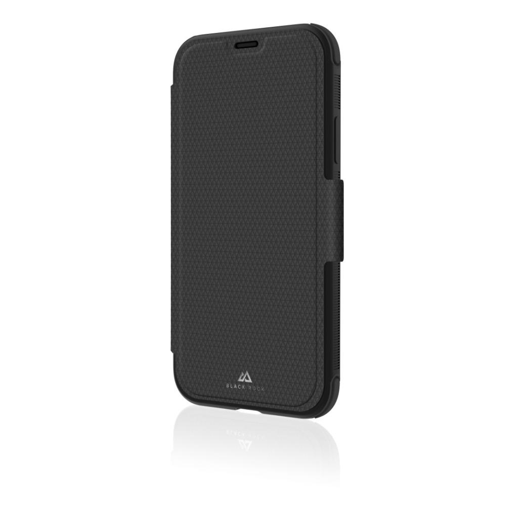 black rock booklet robust voor apple iphone xs zwart