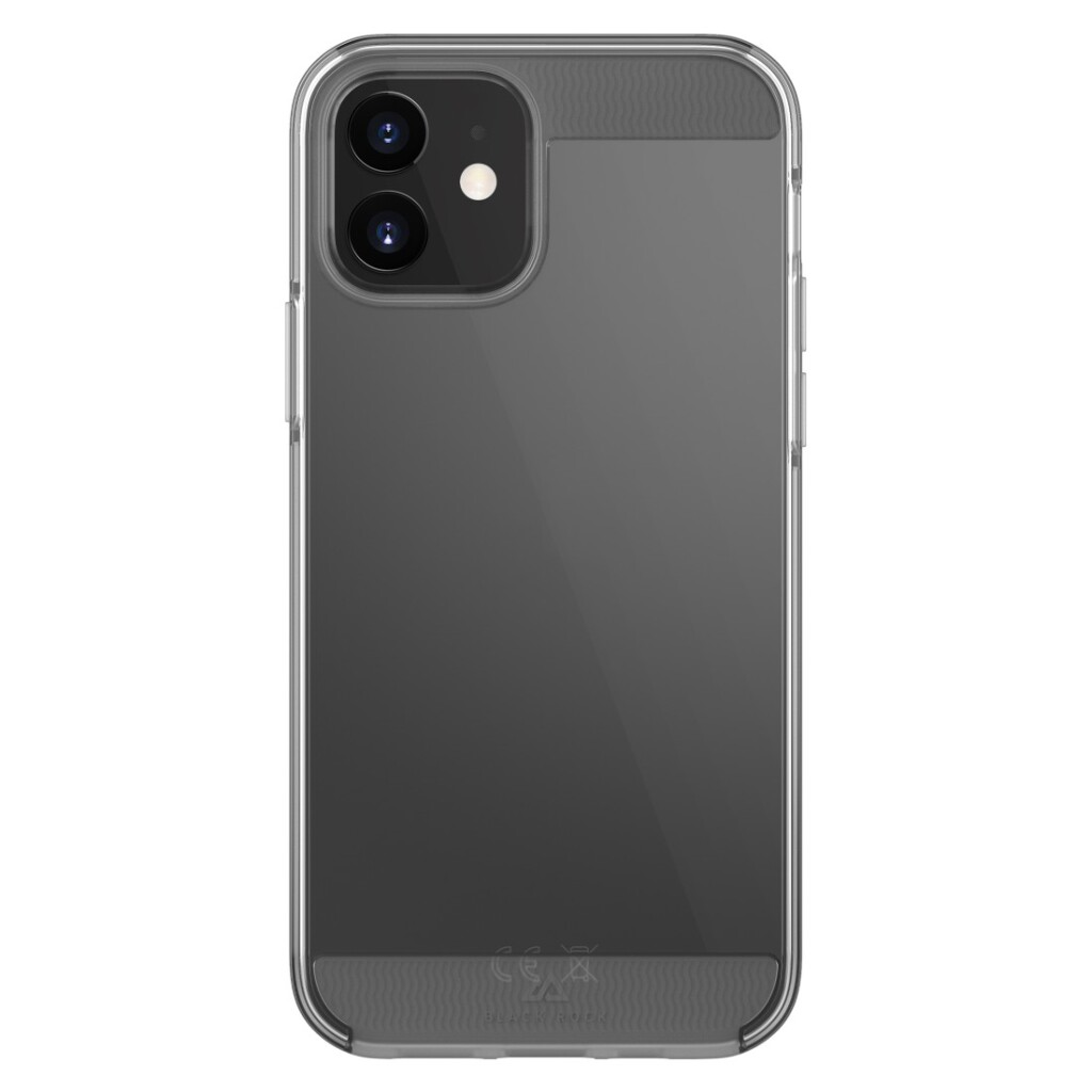 black rock air robust cover for apple iphone 12 transparant