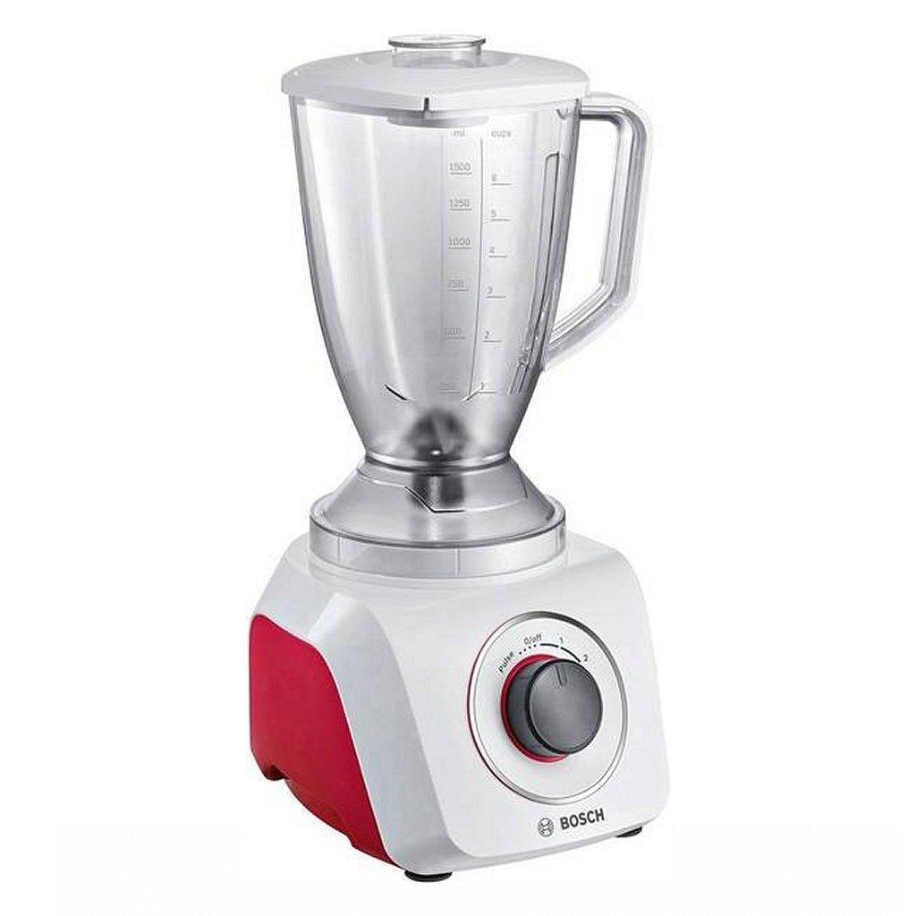 Bosch MMB21P0R Blender 500W 2.4L Wit/Rood