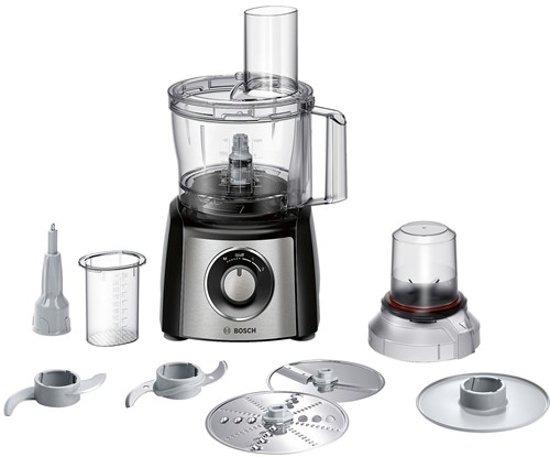 Bosch MCM3401M Keukenmachine 800W Zwart/RVS
