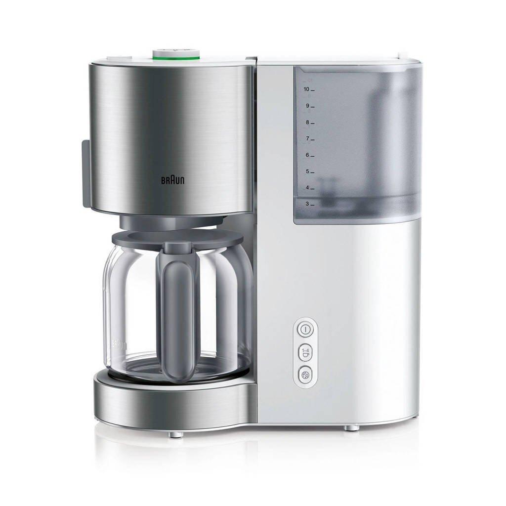 Braun KF5120WH Koffiezetapparaat RVS/Wit