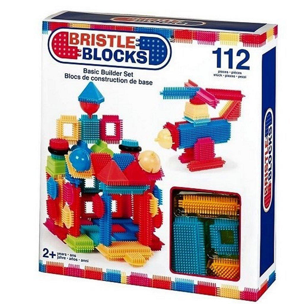 bristle blocks starterset/uitbreidingsset met 112 stuks