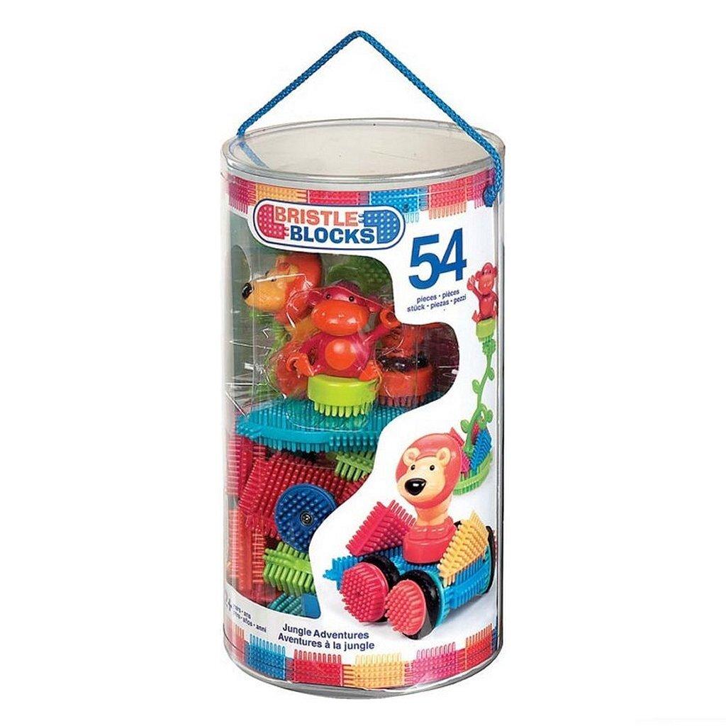 bristle blocks jungle emmer met 54 stuks