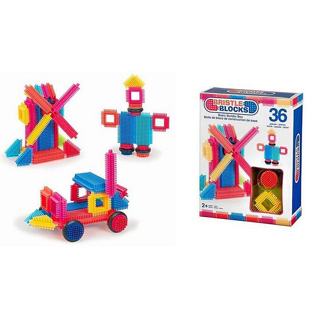 bristle blocks box met 36 stuks