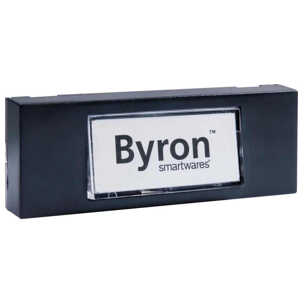 Byron 7740 Bedrade Opbouw Beldrukker Zwart