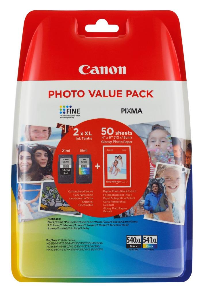 canon can 540xl/541xl en papier orig(2)