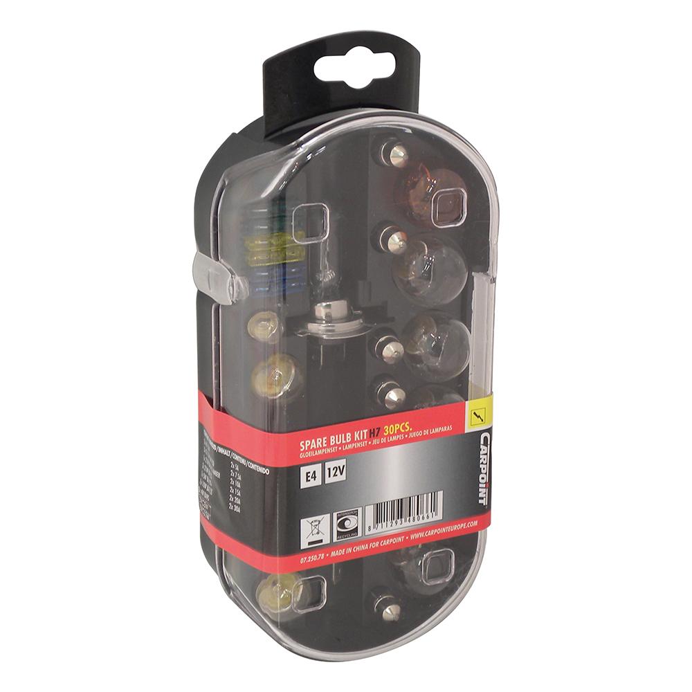 carpoint autolampset h7 55w 30 delig