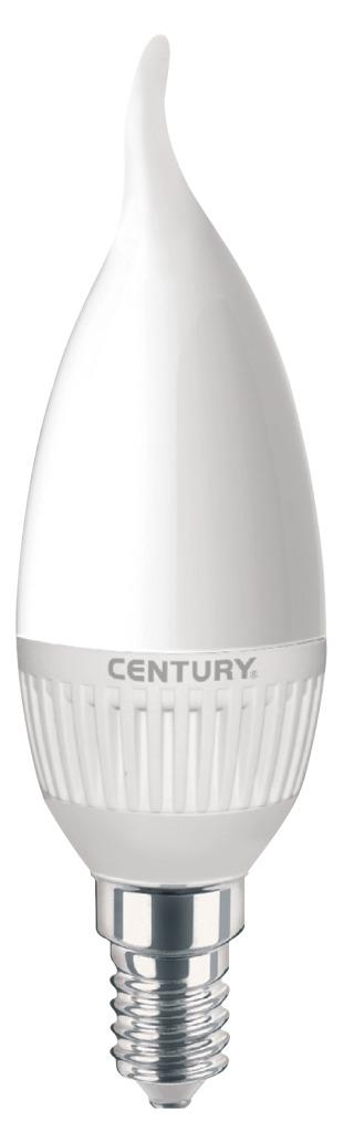 Century HDM1C-051430 Led Lamp E14 Dimbaar Gebogen Kaars 5 W 396 Lm 3000 K