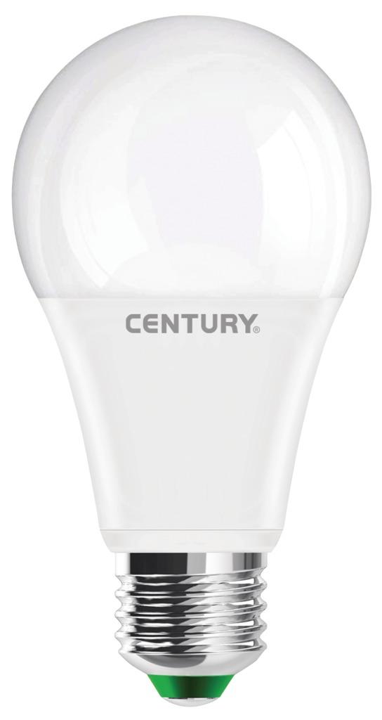 century arp-122730 led lamp e27 bol 12 w 1068 lm 3000 k