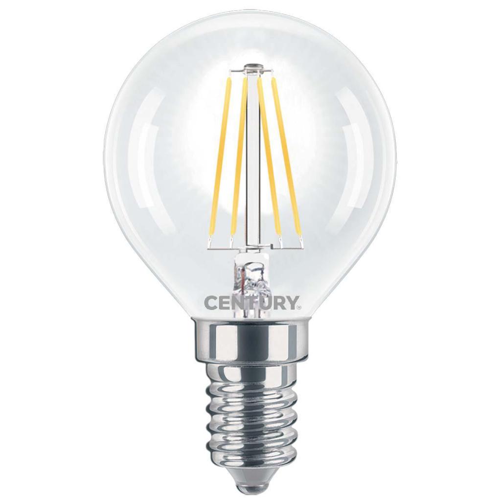 Century INH1G-061427 Led Vintage Filament Lamp Globe E14 6 W 806 Lm 2700 K