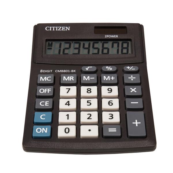 citizen ci-cmb801bk calculator business line, zwart