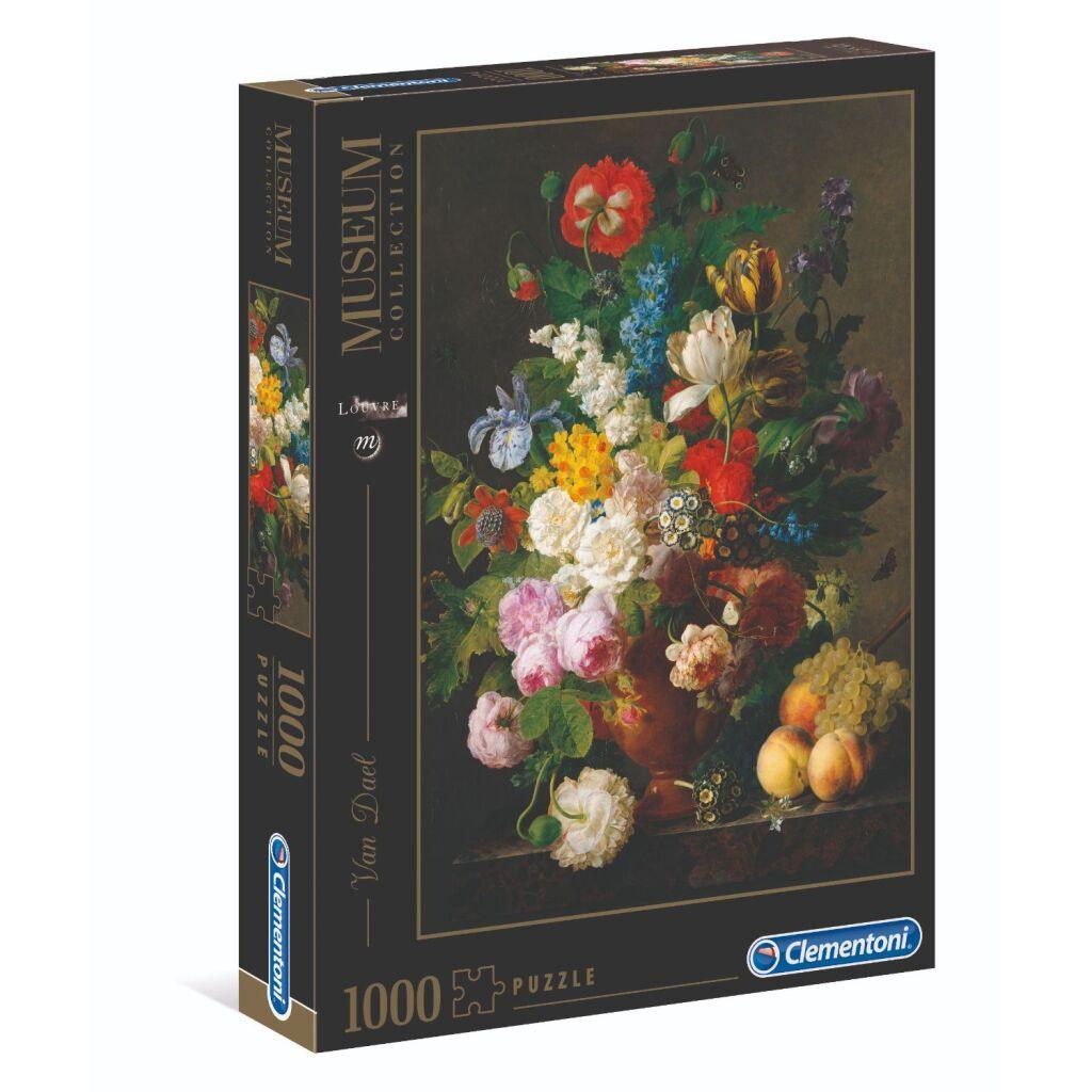 Clementoni Museum Collection Puzzel Van Dael Bloemenvaas 1000 Stukjes