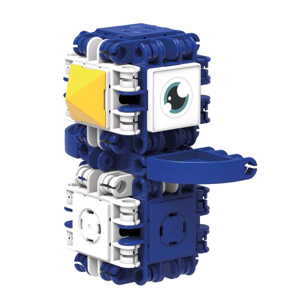 clics clicformers 2in1 craft blauwe set 25-delig