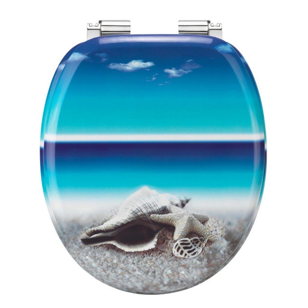 Cornat KSDSC534 Snail Houten WC Bril Softclose 90-160mm