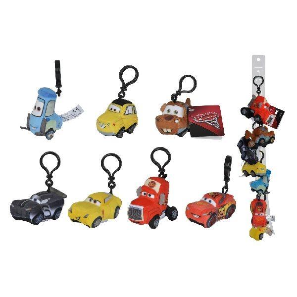 disney cars 3 sleutelhanger 8cm assorti