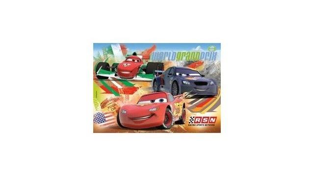 clementoni cars world grandprix puzzel 24 stukjes