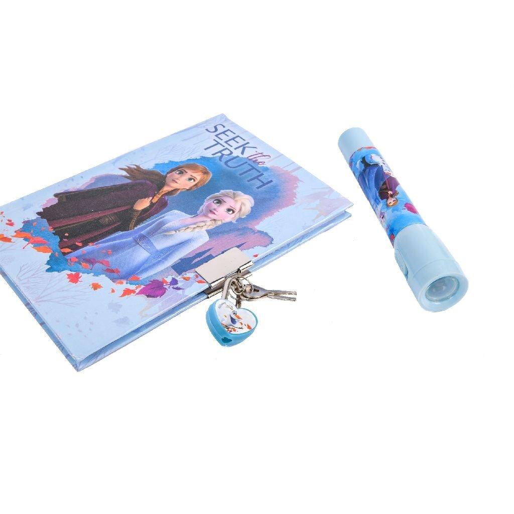 disney frozen 2 geheim dagboek met uv-pen + slotje