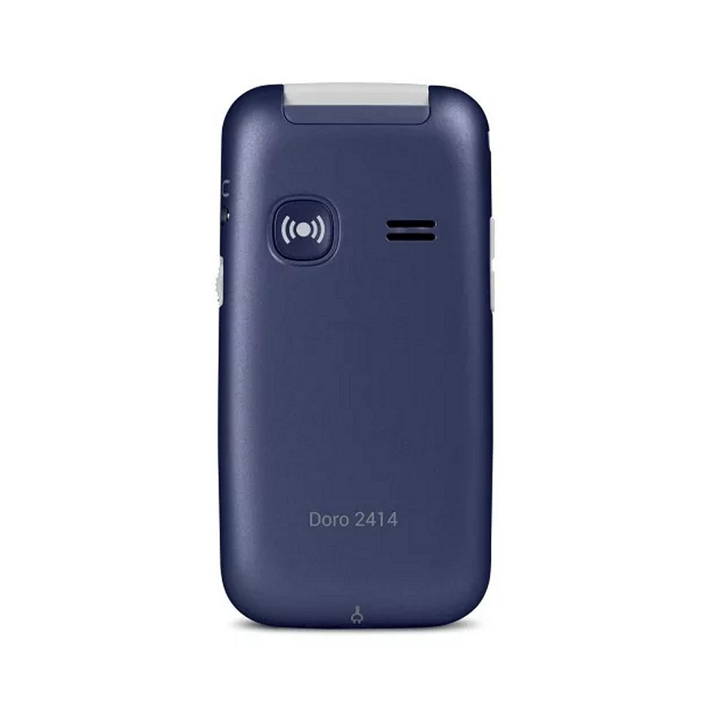Doro 2414 BL/WH Mobiele Telefoon Blauw/Wit