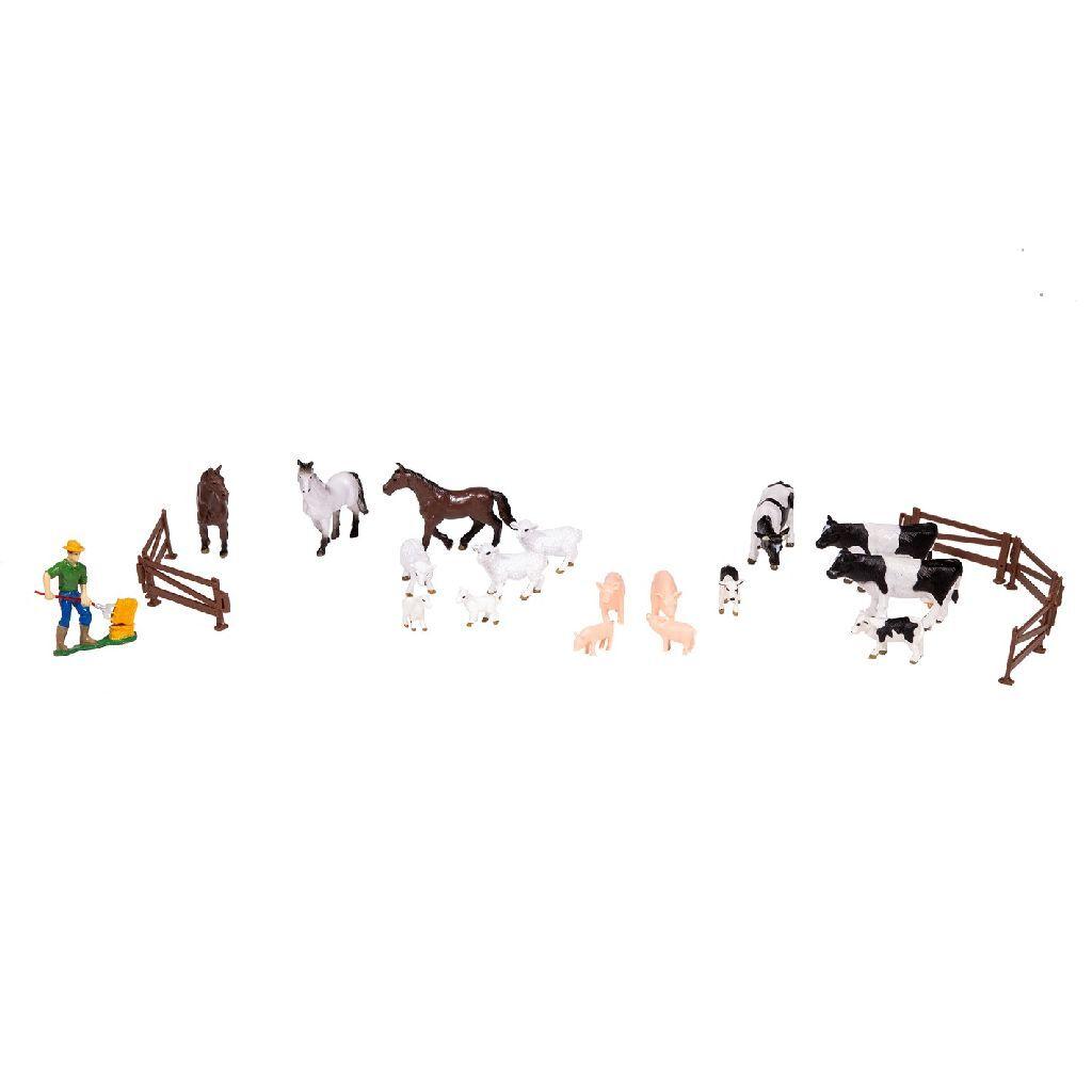 dutch farm boerderijdieren set 24-delig