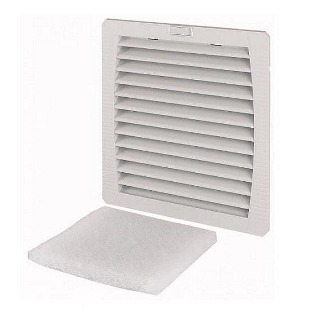 eaton e-fan5 luchtfilter met fan 256/292 m³/h 22,3x22,3 cm