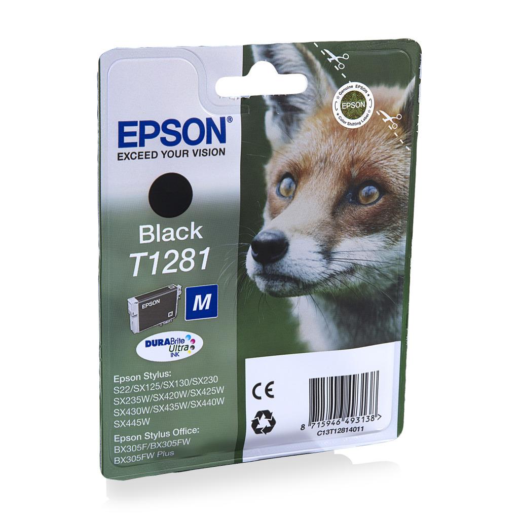 Epson T128140 Origineel Zwart 5,9ml
