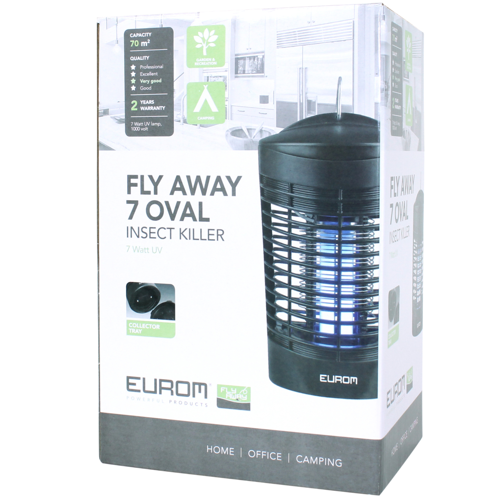 Eurom Insectenkiller Fly Away 70m2 7W