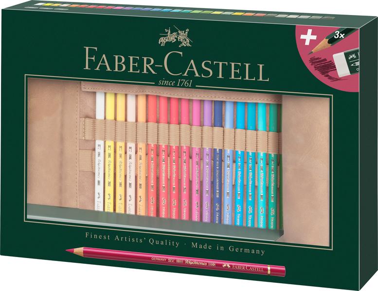 faber castell fc-110030 roletui faber-castell polychromos potloden 30 stuks