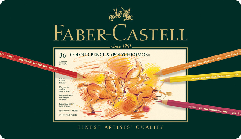 faber castell fc-110036 kleurpotlood polychromos etui ã 36 stuks