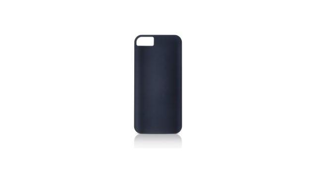 gear4 hard case ic504g thin ice liquid rubber zwart voor apple iphone 5/5s