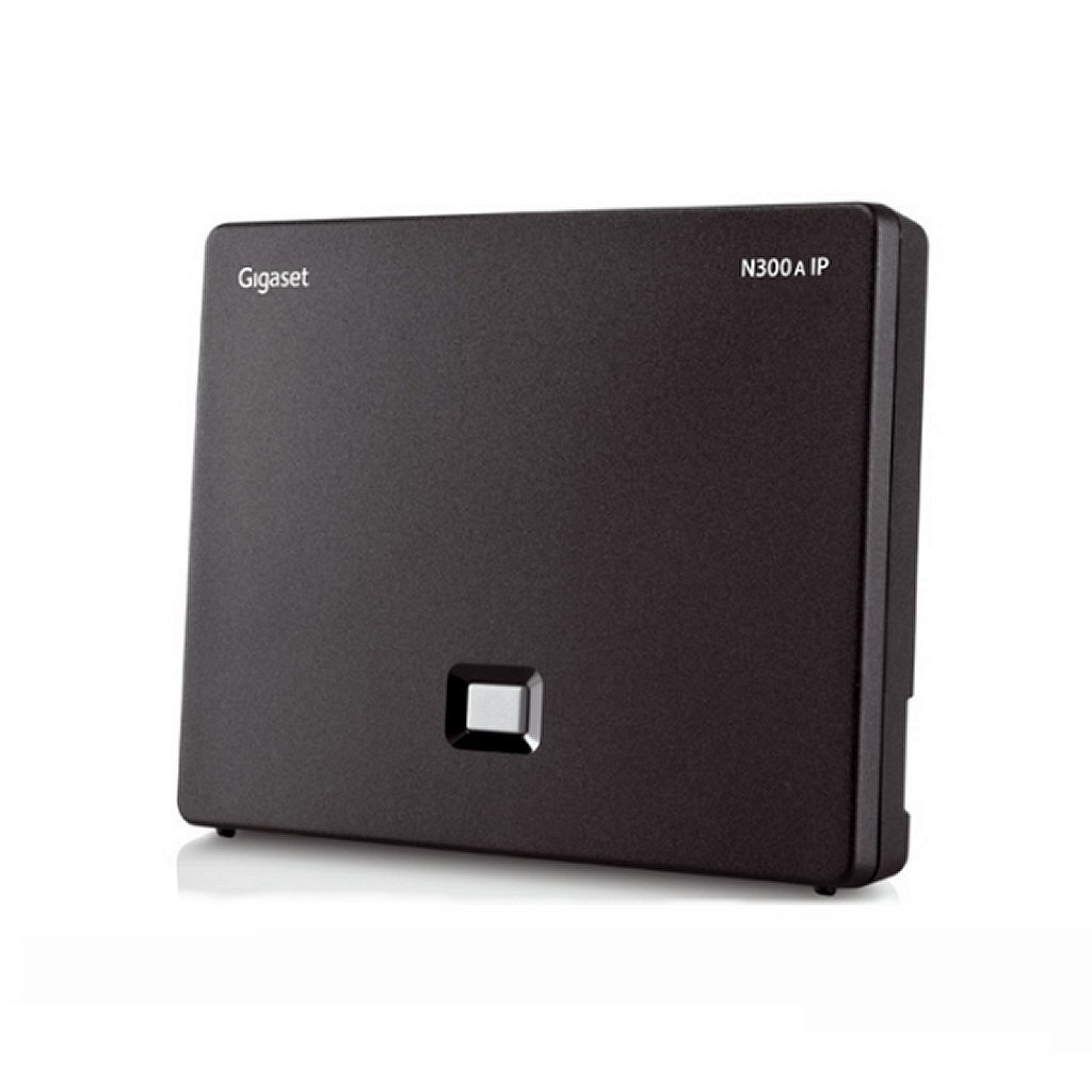 Gigaset N300A IP DECT Basisstation Zwart