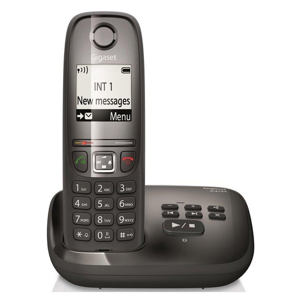 Gigaset A475A DECT Telefoon Zwart