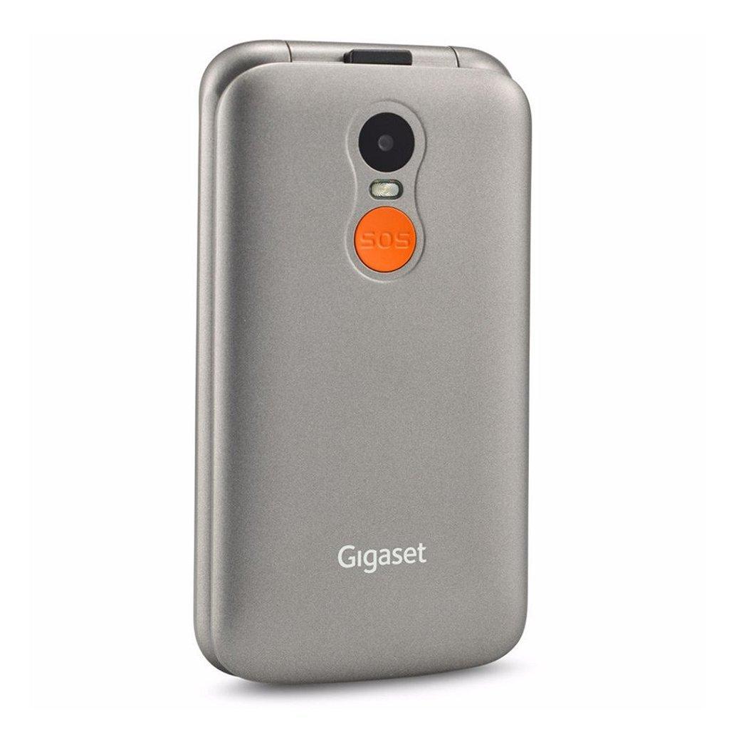 Gigaset Gl590 Mobiele Senioren Telefoon Zilver