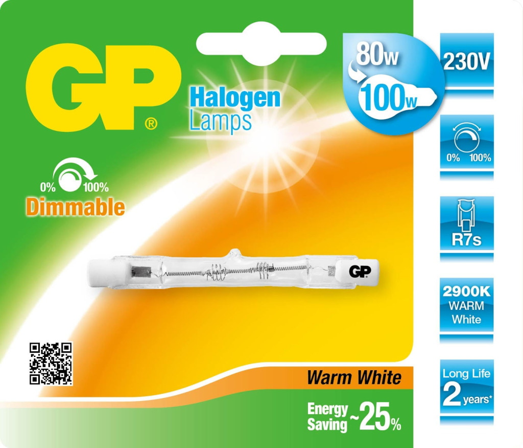 GP Lighting Gp Halo Lin. Es 78mm 80w R7s