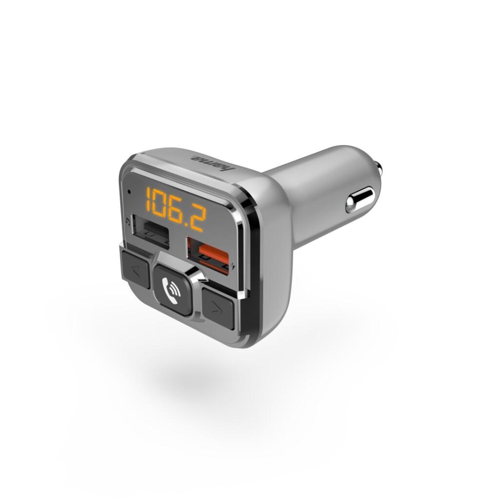 Hama FM-transmitter Met Bluetooth®- En Handsfree-functie