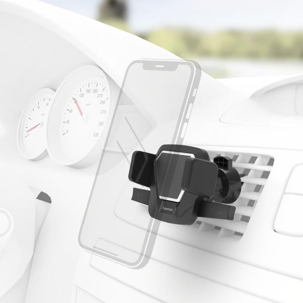 Hama Uni-smartphonehouder Comfort Vent Toest. Met Br. 5,5 - 8,5 Cm